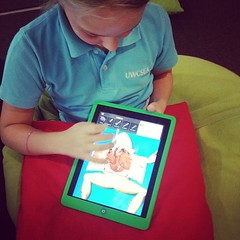 Frog dissection in G4 #366/338 #uwctech #edapp