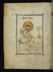 Gospel Book, Evangelist Mark, Walters Manuscri...