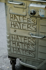 Haters or...
