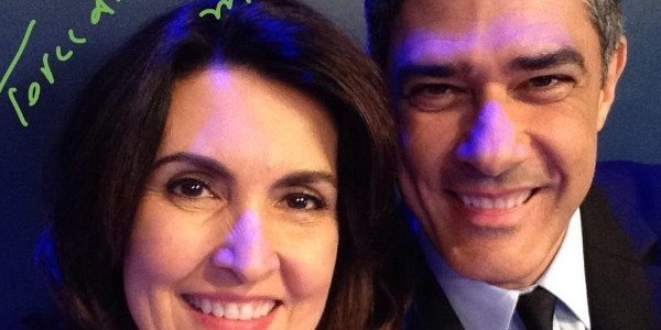 Fatima Bernardes e William Bonner se separam após 26 anos de casamento