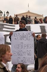 Stop the Golden Dawn gangs