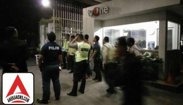 #Terkini: Diteror Bom, tvOne Tetap Siaran