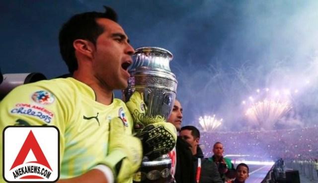 #Bola: Kiper Baru ManCity Menolak Dipanggil Timnas Chile