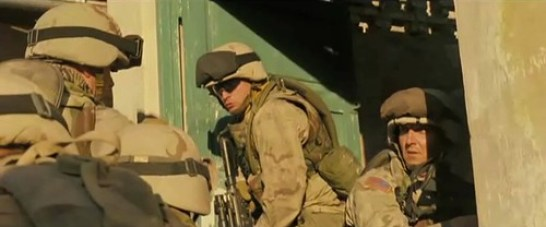 "Sean Huze, Michael Dwyer, and Matt Damon in ""G..."