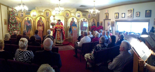 "12/09/12: Father Soroka celebrates the Divine Liturgy • <a style=""font-size:0.8em;"" href=""http://www.flickr.com/photos/72479515@N06/8282472091/"" target=""_blank"">View on Flickr</a>"