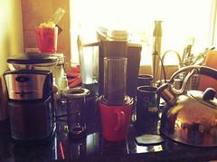 First Aeoropress coffee in 2013. My Keurig hangs its head in shame.