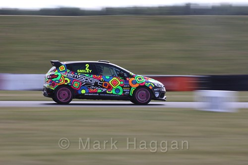 Chris Smiley in the Clio Cup during the BTCC 2016 Weekend at Snetterton