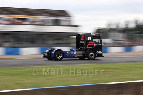 Truck Racing at Donington Park, July 2016