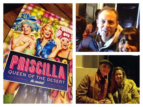 Today is all about...Priscilla Queen of the Desert