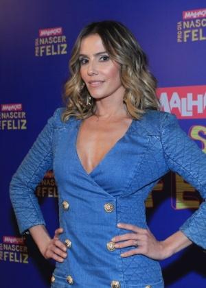 """Deborah Secco volta à TV em """"Malhação"""" e diz que seu foco é a maternidade"""