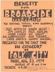 Broadside Benefit 1979