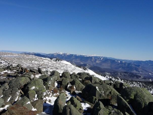 Mt. Moosilauke Summit North View of the Franconia Ridge and Presidential Range