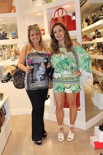Marizete Santos e Vânia Barbosa