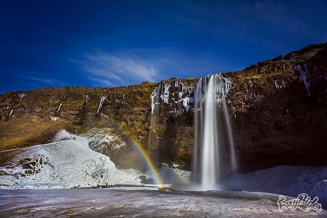 Seljandsfoss Waterfalls