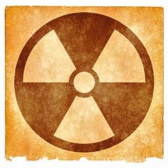 Nuclear Grunge Sign - Sepia