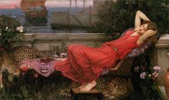 "John William Waterhouse ""Ariadne"" 1898 (modified)"