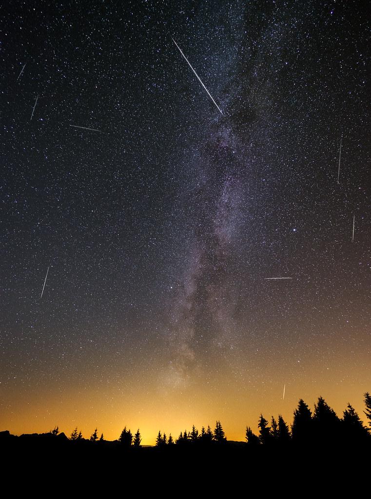 Kzehntner__ Jpg Ikimphoto Tags Gurnigel Night Milkyway Gantrisch Schweiz Shootingstars Stars Switzerland