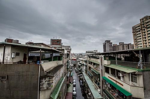 2016/9/17馬勒卡颱風,到了下午可能就不是這麼和平的雨了