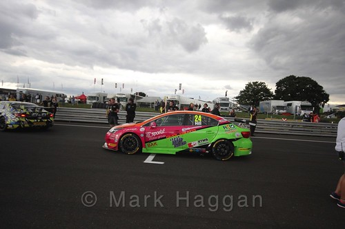 Jake Hill's car during the Grid Walks at the BTCC 2016 Weekend at Snetterton
