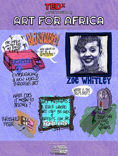 1 of 12 TEDxJohannesburg -- Zoe Whitley