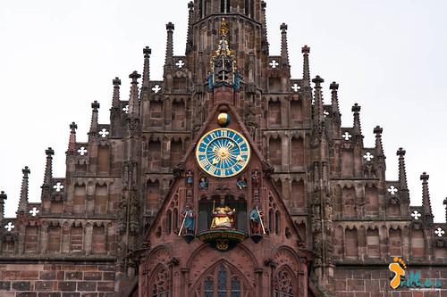"""relógio mecânico """"Männleinlaufen"""" na..."""
