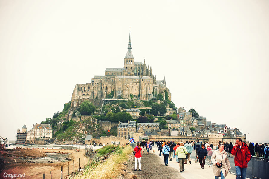 2016.09.25 | 看我的歐行腿| 法國巴黎聖米歇爾山,原來腦子有洞是這樣來的 06