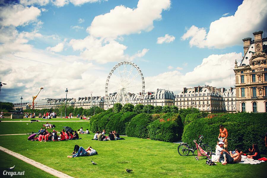 2016.8.28 | 看我的歐行腿| 法國巴黎凱旋門、香榭麗舍間的歷史之道 09