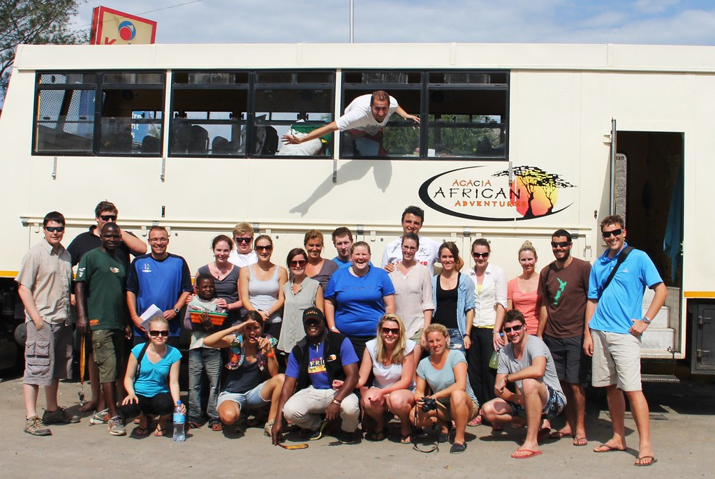 Our overland tour group - We will miss everybody