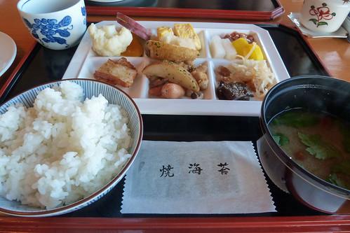 朝食(Breakfast, Shimoda, Shizuoka, Japan)