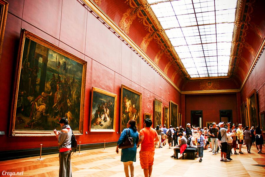 2016.09.04 | 看我的歐行腿| 法國巴黎羅浮宮,金屋藏嬌裡的那抹淺淺微笑 15