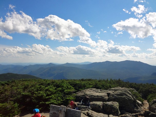 South Twin Mt. Southern View on NH Appalachian Trail