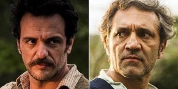 Rodrigo Lombardi presta homenagem ao ator Domingos Montagner