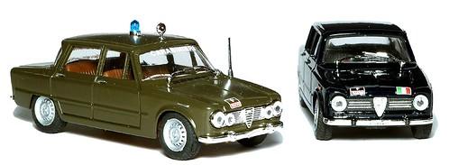 Progetto K Giulia 1600 e 1300 carabinieri