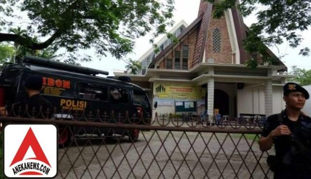 #Terkini: Polisi Siapkan Sketsa Wajah Penyuruh Pelaku Bom Gereja Medan