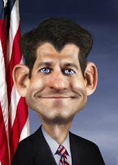 Paul Ryan Caricature