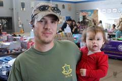 092412 Military Child Salute - Peyton Higgins