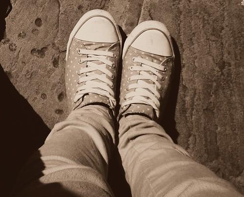shoes random spotty