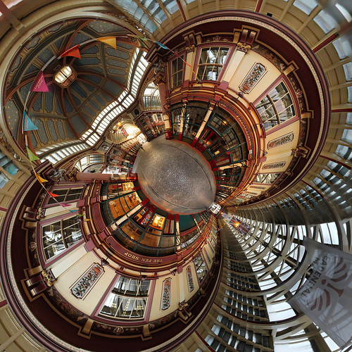 Leadenhall Market London als LittlePlanet
