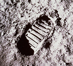Archive: First Footprint on the Moon (NA by NASA&squot;s Marshall Space Flight Center, on Flickr