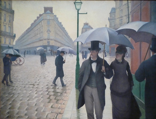 Gustave Caillebotte, Paris Street; Rainy Day
