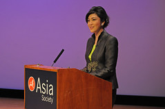 Thai PM Shinawatra at Asia Society 19