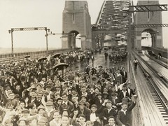 School Children on Bridge - Sydney Harbour Bri...