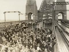 School Children on Bridge - Sydney Harbour Bri...