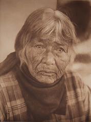 Aged Pomo Woman