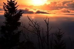 387e sunrise in the clouds