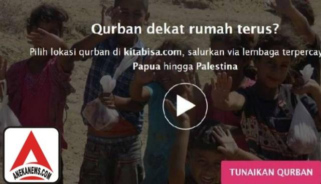 #Tech: Kurban via Online Bisa Disalurkan ke Area Terpencil