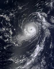 Hurricane Michael in the eastern Atlantic on S...
