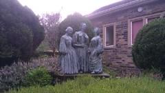 BRONTE SISTERS STATUE