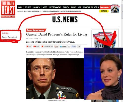 Petraeus affair rules for living