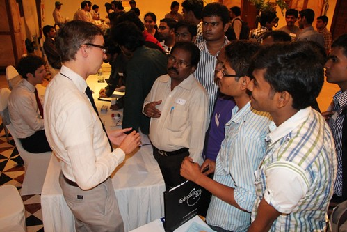 Pics from Hyderabad Education Fair-Nov. 7th